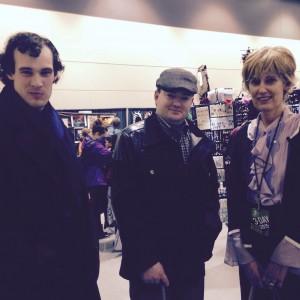 Sherlock, Watson, & Mrs. Hudson