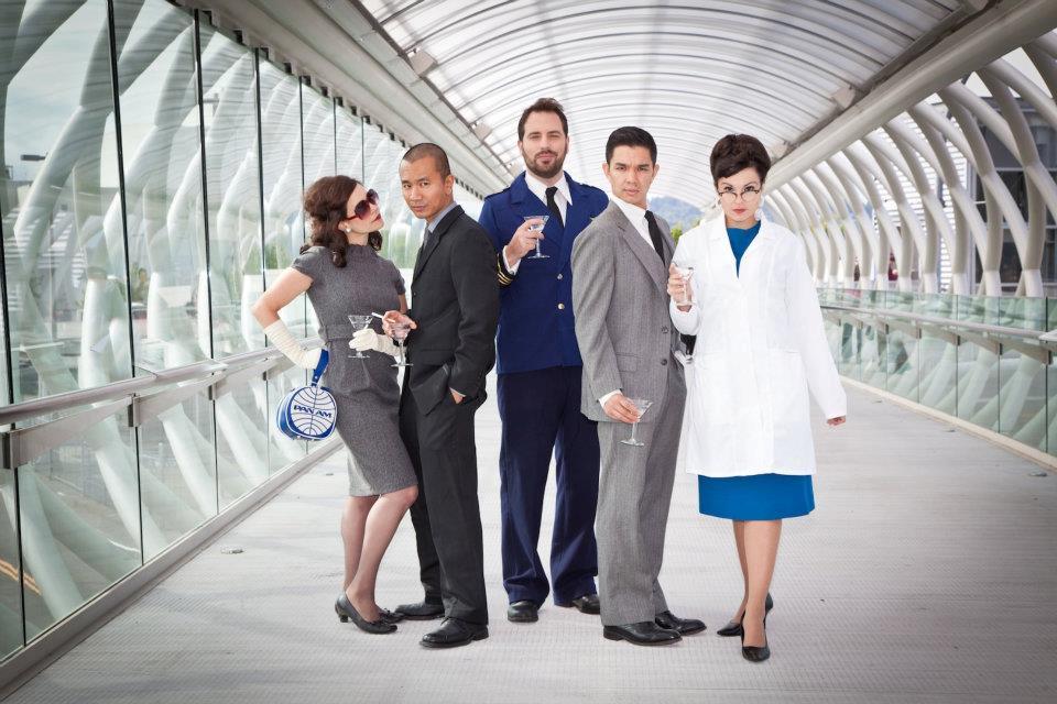"The zexy cast of ""To Savor Tomorrow"". Photo: John Cornicello"