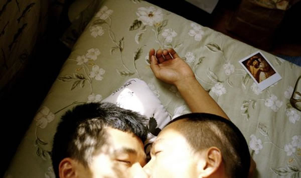 Gay Lovers in Lianzhou, China. Photo credit Lin Zhipeng