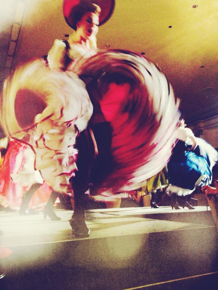 The can-can offers a blur of high energy and artistry when performed by members of The House of Verlaine. Photo: FB