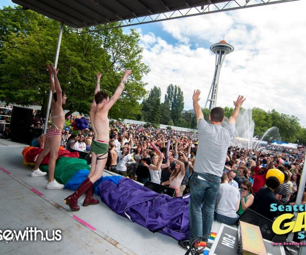 Seattle PrideFest 2012  Photos by Ryan Georgi www.PoseWith.us for Seattle Gay Scene