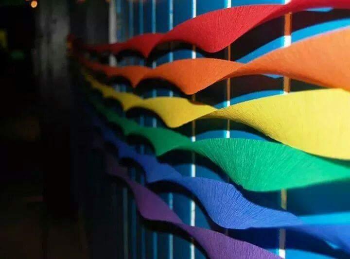 rainbow crepe