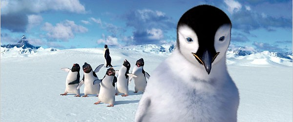 """Yes...we know this is a still from """"Happy Feet"""" but it fits better on the page!"""