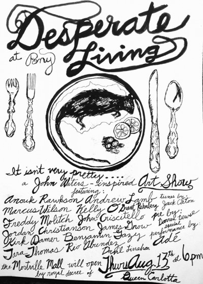 Desperate Living Art Poster
