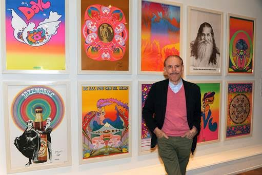 Peter Max and his art.