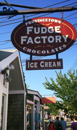 P-Town: Fudge Packing Capitol of the Eastern Seaboard.