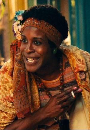 "Otoja Abit as Marsha P. Johnson in the film ""Stonewall""."