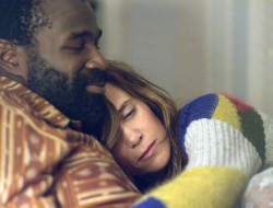 """Tunde Adebimpe and Kristen Wiig star in Sebastian Silva's Sundance hit, """"Nasty Baby"""" which will play the Seattle Lesbian & Gay Film Festival on Friday, October 16, 2015."""