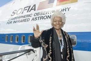 Nichelle Nichols. Image: NASA.