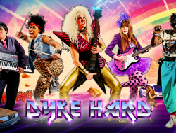 """The music comedy """"Dyke Hard"""" headlines the midnight movie slot this Saturday, Oct 10 at SLGFF!"""