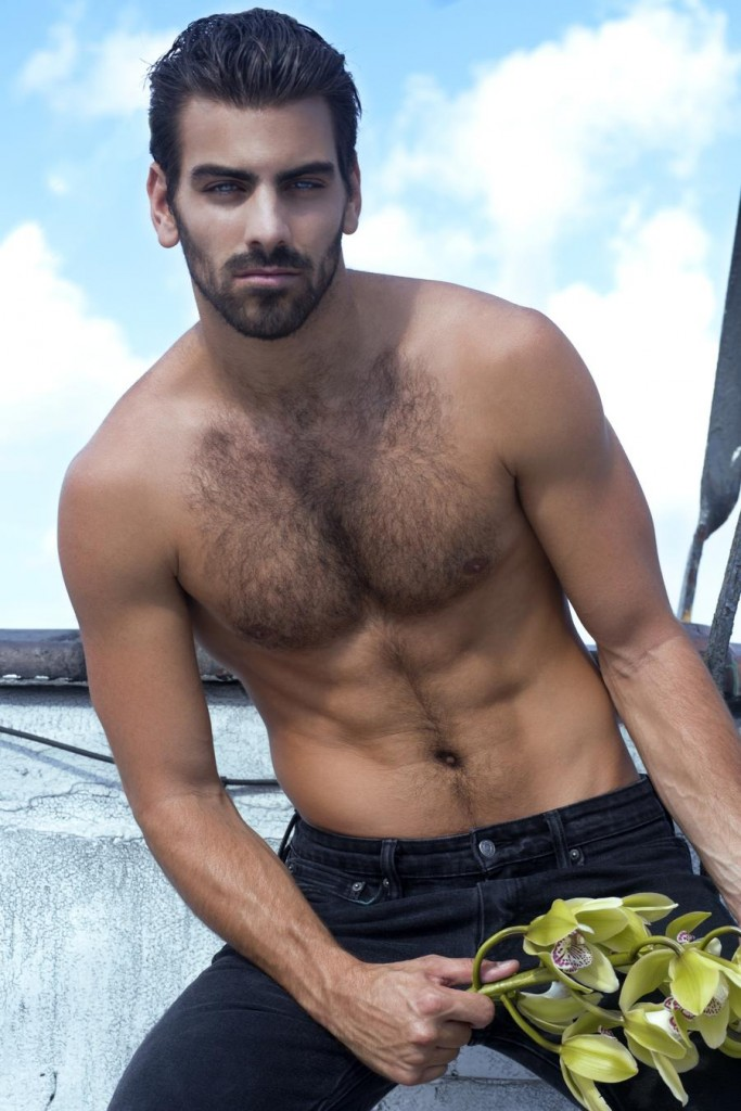 Model Nyle DiMarco. Photo: Eric Pietrangolare Styling: Nathan Ayon
