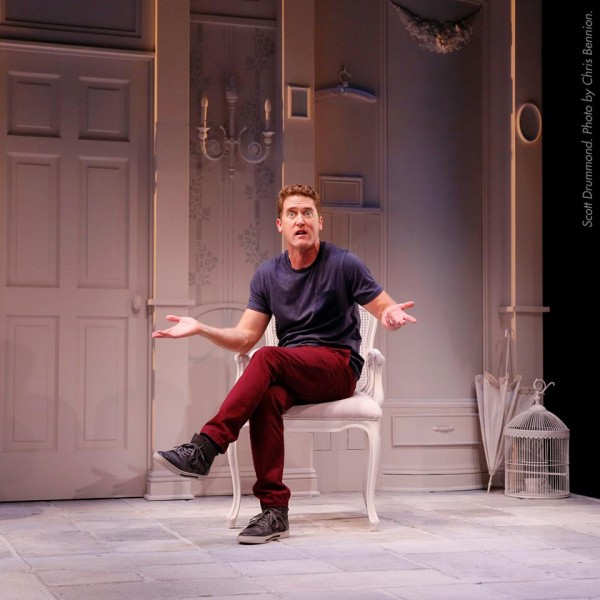 """It's Gorgeously Funny: Seattle Rep's """"Buyer & Cellar"""""""