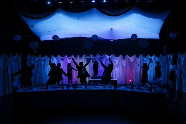 "The cast of New Century Theatre Company's ""Festen"". Photo by John Ulman."