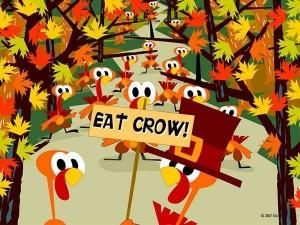 turkeysEatCrow