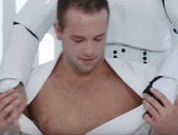 Luke could use some Rogaine in men.com's Star Wars gay porn parody.