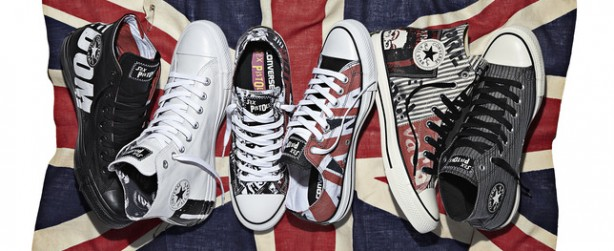 Converse releases Sex Pistols themed hi-tops...for some reason.
