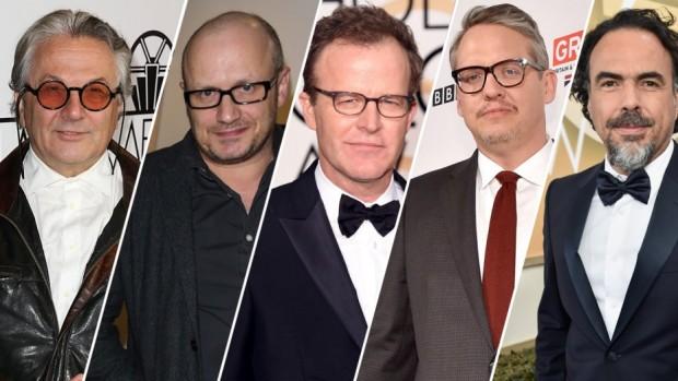 George Miller, Lenny Abrahamson, Tom McCarthy, Adam McKay, Alejandro G. Iñárritu