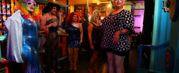 """Mama Tits and the cast of her hit drag troupe, """"Mimosas with Mama"""".  Photo: GENNA MARTIN, SEATTLEPI.COM"""
