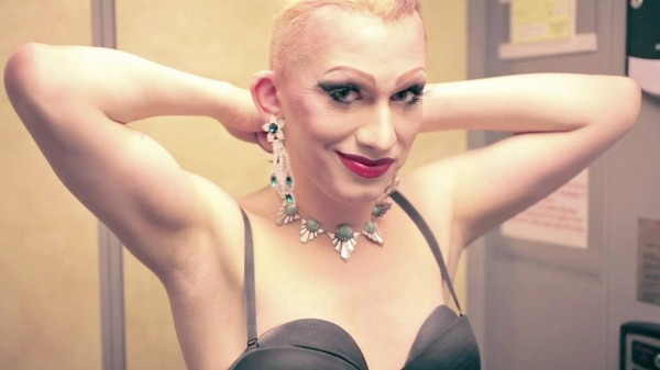 """Jerick Hoffer IS Jinkx Monsoon, in """"Drag Becomes Him"""" the Seattle made documentary about the drag super star."""