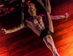 Boylesque star Joshua Dean. Photo by Mark Shelby Perry.