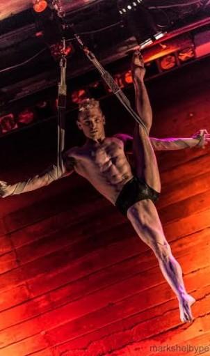 Boylesque star Joshua Dean. Photo by Mark Shelby Perry.
