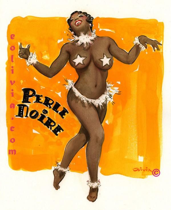 Perle Noire Art by Olivia De Berardinis - www.eolivia.com