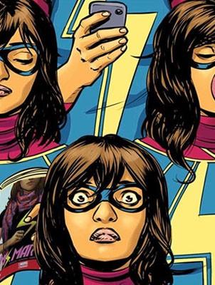 Art: Ms Marvel/Marvel Comics