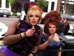 Patsy and Eddie in town for Seattle Pride fun! #AbFabTheMovie Photo: MStrangeways
