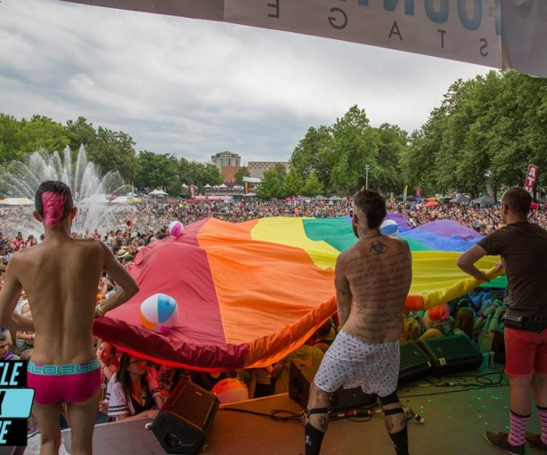 Seattle PrideFest 2015 - June 28, 2015 - Photo: Tiffany Von Arnim for SGS