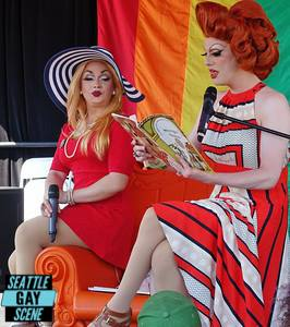 Drag Queen Story Time!  Photo: Michael McAfoose for SGS