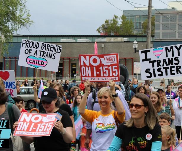 Trans*Pride Seattle - June 25, 2016 - Photo: Adam McRoberts for SGS