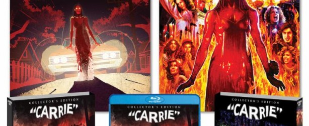 """Brian DePalma's """"Carrie"""" his film version of the Stephen King novel, turns 40 this year...Shout Factory has a remastered new home edition coming out in October."""