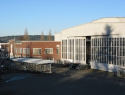 """Seattle's film making community hope to turn Magnuson Park's """"Building 2"""" into a film studio. Photo: Seattle Parks & Recreation"""
