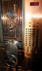 Original elevator. Photo: Dane Hendricksen