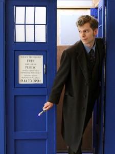 Dane Hendricksen as the Tenth Doctor. Photo: Korra Q