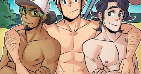 Naughty Professors Kukui, Willow, and Sycamore