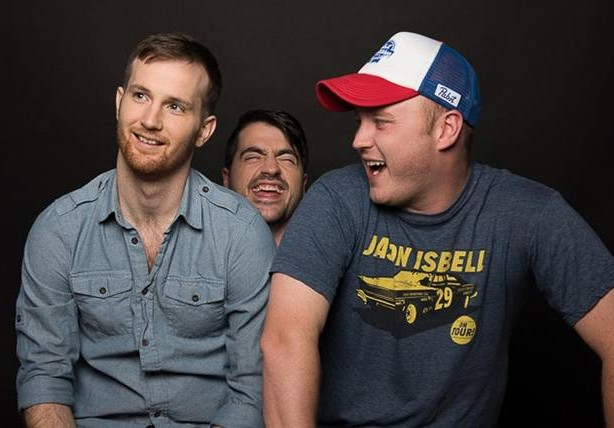 From left, Drew Morgan, Trae Crowder (the Liberal Redneck) and Corey Ryan