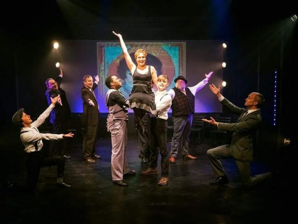 Caitlin Frances (Mabel) and the Ensemble. Photo by Michael Brunk