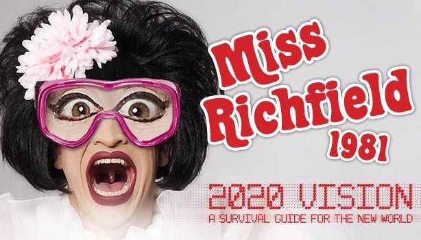 Miss Richfield 1982 makes her debut on Seattle's gay scene in April!