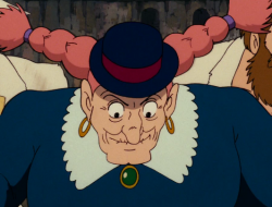 Captain Dola is our Spirit Warrior... and we love Cloris Leachman in the English dubbed performance in this Miyazaki anime classic film.