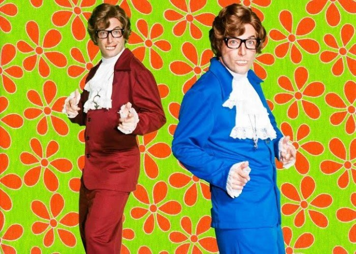 Craig Trolli IS Austin Powers in the Champion's Party Supply Costume catalogue courtesy of the make-up/hair skills of Erik Warren. Photo: Kaija Rae Photography