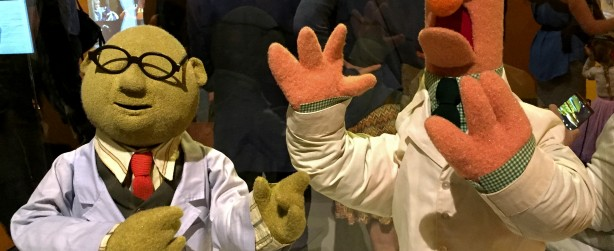 Professor Honeydew and Beaker. Photo: Korra Q