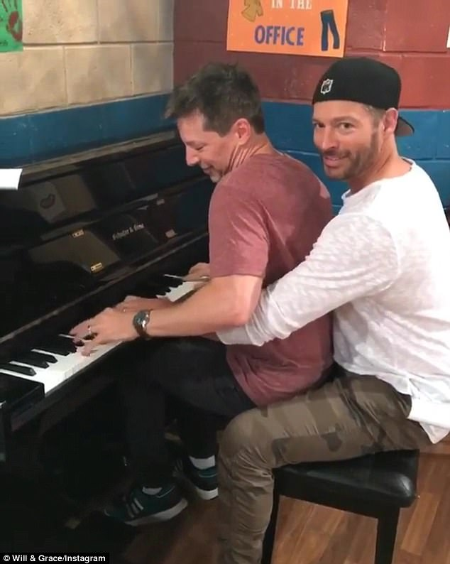 """Harry Connick Jr posted this on Instagram: """"Are Jack and Leo dating in the new season? Plot twist!"""""""