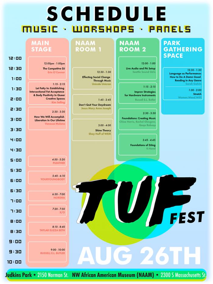 TUFFest17Schedule