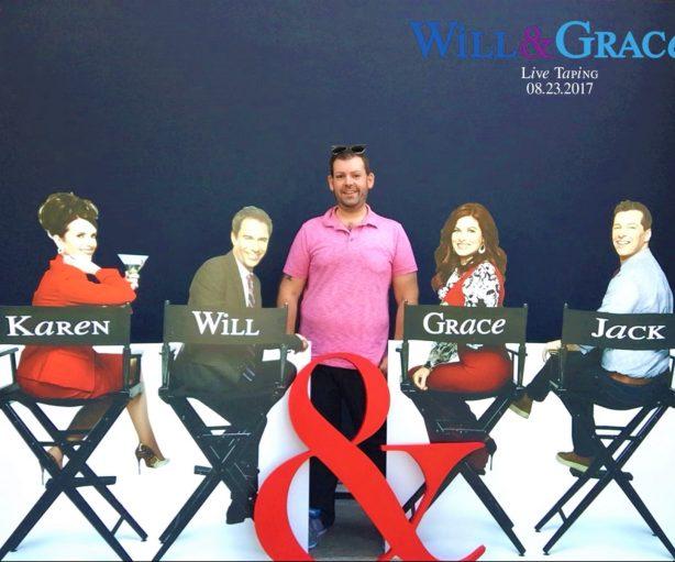 Karen & Will & Nick & Grace & Jack at Universal Studios, August 23, 2017. Photo: Courtesy of Nick Steiner