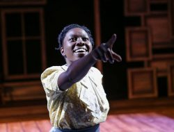 Keita stars in Book-It Rep's adaptation of Maya Angelou's I KNOW WHY THE CAGED BIRD SINGS. Photo by John Ulman