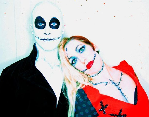 Jack and Sally in Can Can Cabaret's THIS IS HALLOWEEN show at The Triple Door this October.