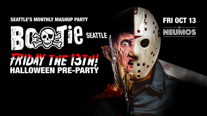 Bootie Seattle: Friday the 13th: Halloween Pre-Party!Seattle Gay ...
