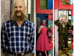 Marc Kenison/Waxie Moon as himself and characters in Seattle Opera's THE BARBER OF SEVILLE