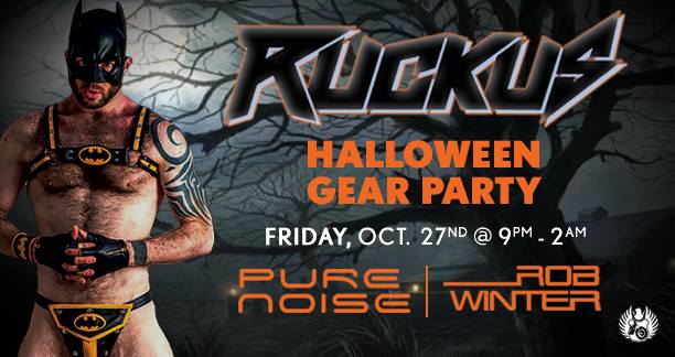 Ruckus Halloween Edition Costume Party House MUSIC CentralSeattle ...